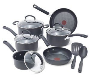 Tefal red spot cookware